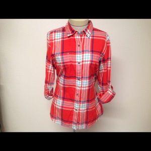 The North Face Long Sleeve Plaid Shirt